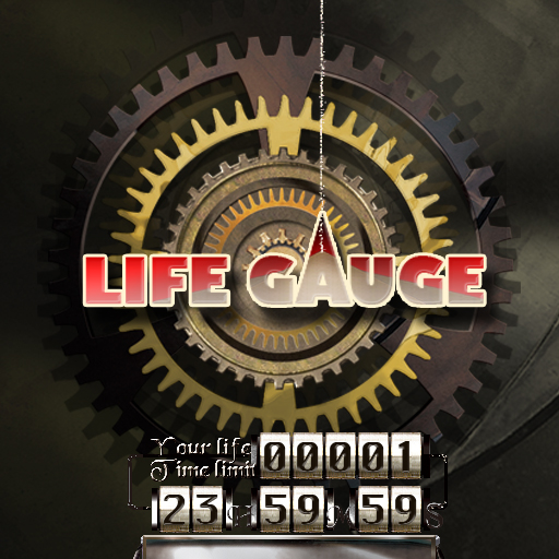 LIFE GAUGE -Count your rest of life time-