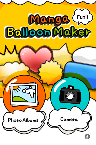 Manga Balloon Maker (Lite) free app screenshot 1