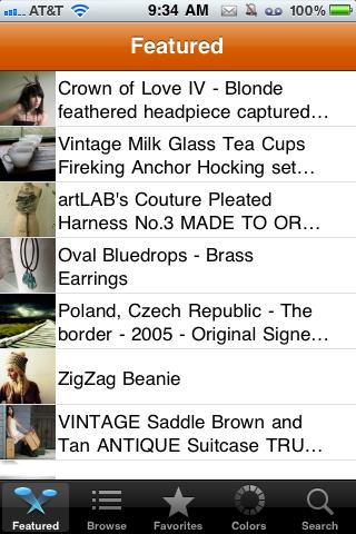 Handmade free app screenshot 1