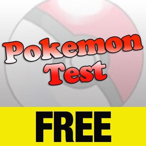free Pokemon Test FREE iphone app