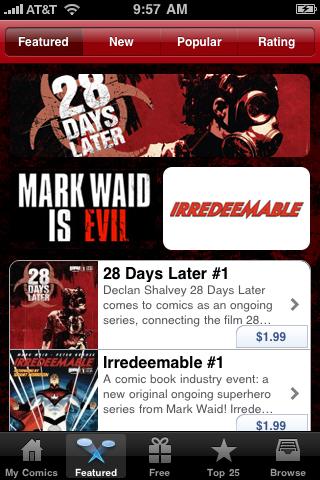 BOOM! Studios Comics free app screenshot 1