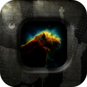 Fling Cube: Black Holes icon