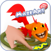 MazeArtPlus: 65 mazes, hours of fun. icon