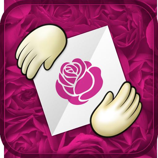 free Happy Origami Rose Edition iphone app