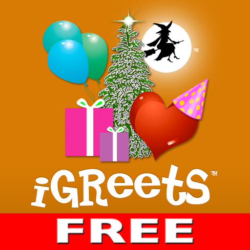 free iGreets Free - Greeting Card Creator iphone app