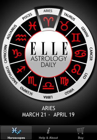 ELLE Astrology Daily free app screenshot 1