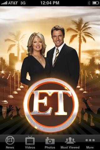 Entertainment Tonight - ET free app screenshot 1
