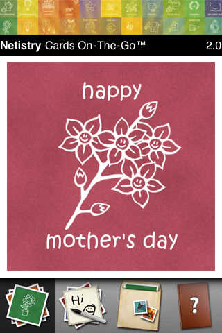 Mother's Day Cards On-The-Go free app screenshot 1