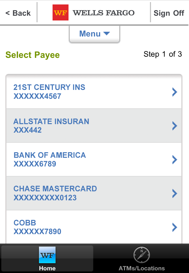 Wells Fargo Mobile screenshot 5