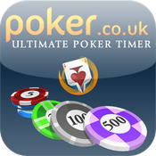 Ultimate Poker Timer by Poker.co.uk icon