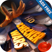 Checker Wars HD Ads Free icon