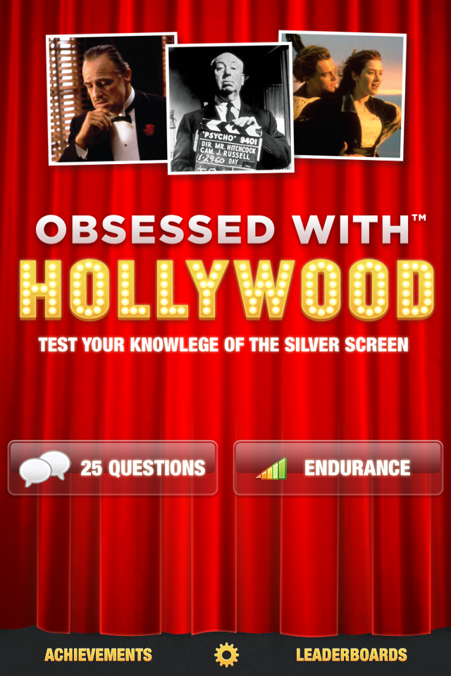 Obsessed With Hollywood - Movie Trivia Game
