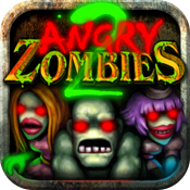 Angry Zombies 2 HD for iPad icon