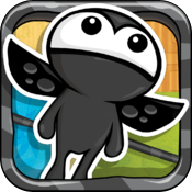 jump and fly icon
