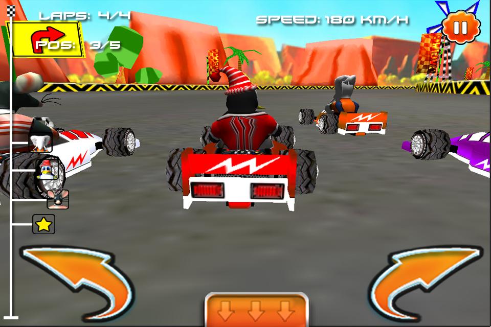 Cartoon car racing race games for kids for Motor racing for kids