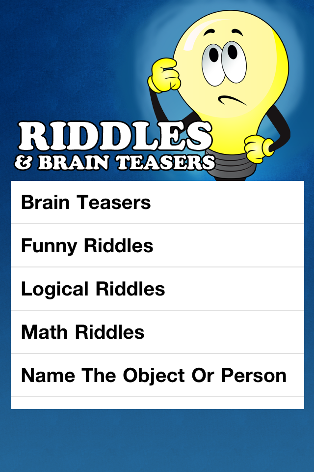 funny riddles and brain teasers with answers