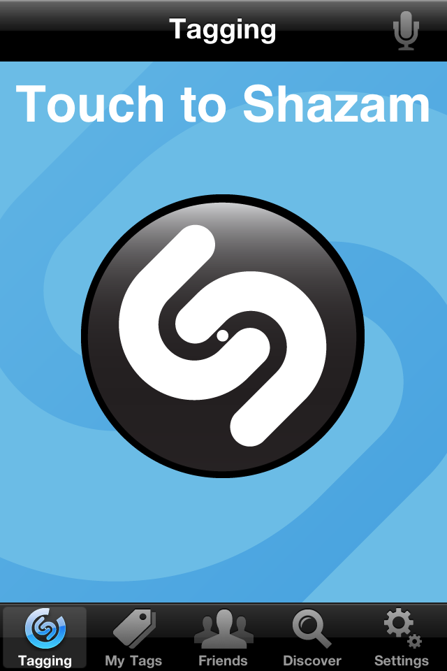 Shazam free app screenshot 1