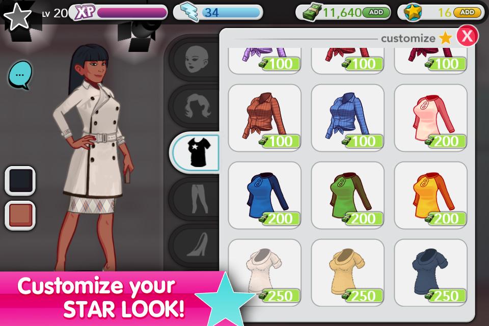 Stardom: The A-List screenshot 3