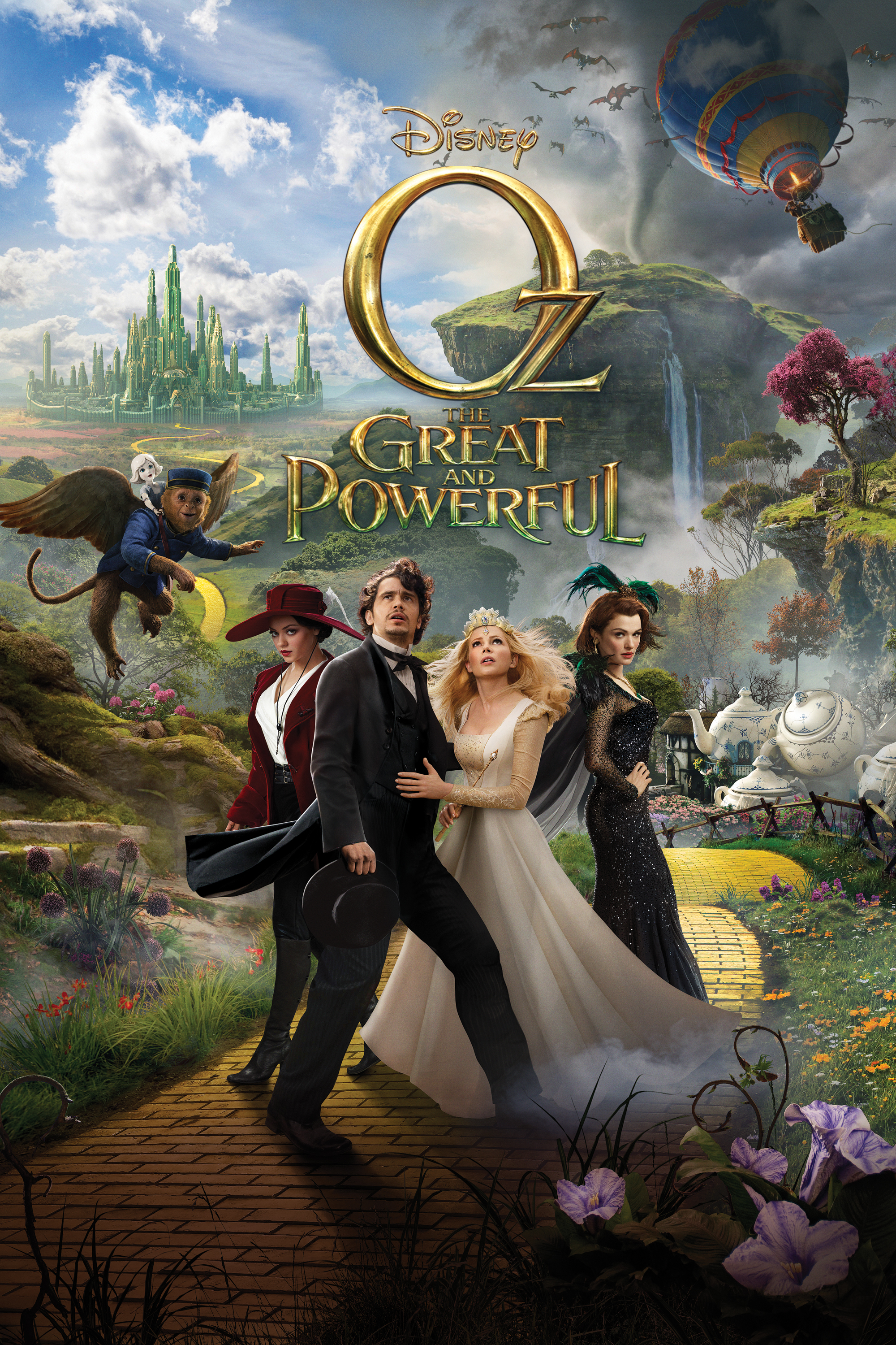 Oz: The Great And Powerful [Latino]