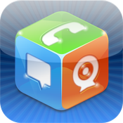 iCall - Free Phone Calls, Video Chat, SMS + Instant Text Messages for IM and Cheap International Calls icon