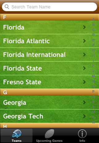 College Football Radio screenshot 1