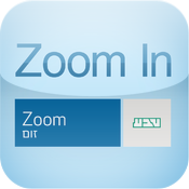 Zoom in quiz icon