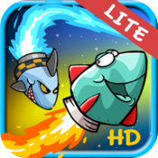 Little Rockets Lite HD icon