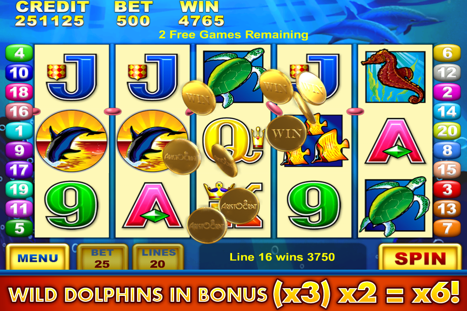 Dolphins Treasure Slot - Read the Review and Play for Free