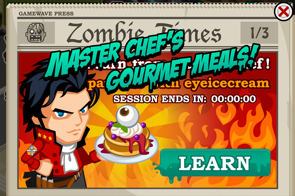 Zombie Restaurant Game Image of Zombie Restaurant