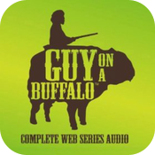 Guy on a Buffalo icon