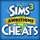 Cheats App for Sims 3 Ambitions