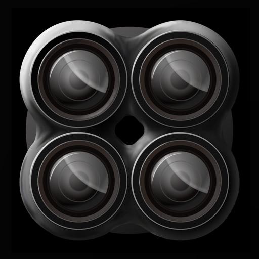連写カメラ QuadCamera