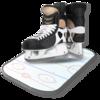 Ice hockey coach's clipboard