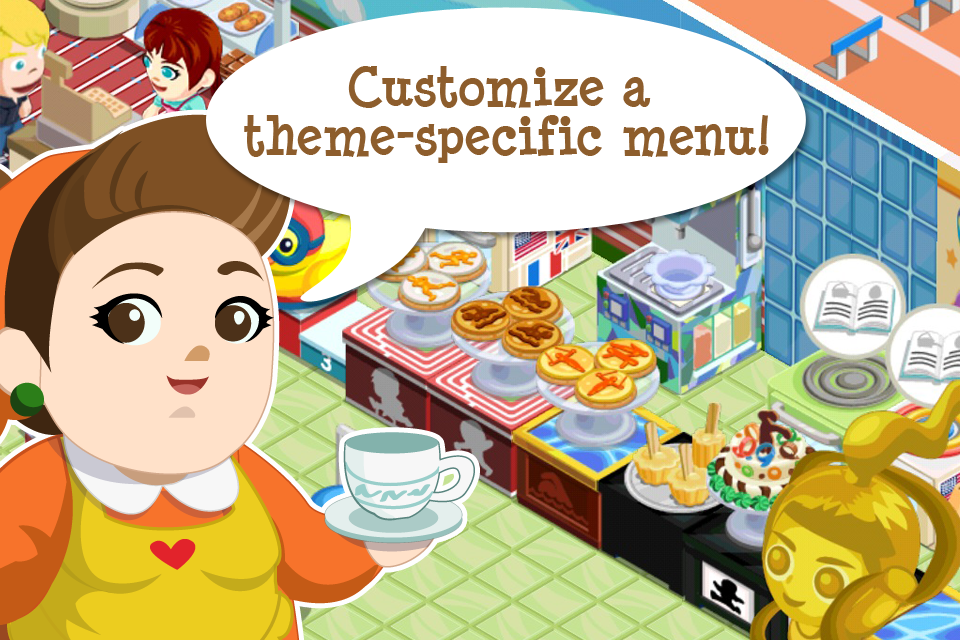 Bakery Story: World Games screenshot 4