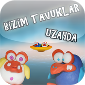 Bizim Tavuklar Uzayda - Chicken Invaders For Kids icon