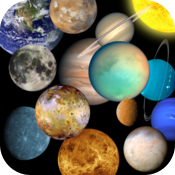 zero Solar System Free planets and moons for iPad icon