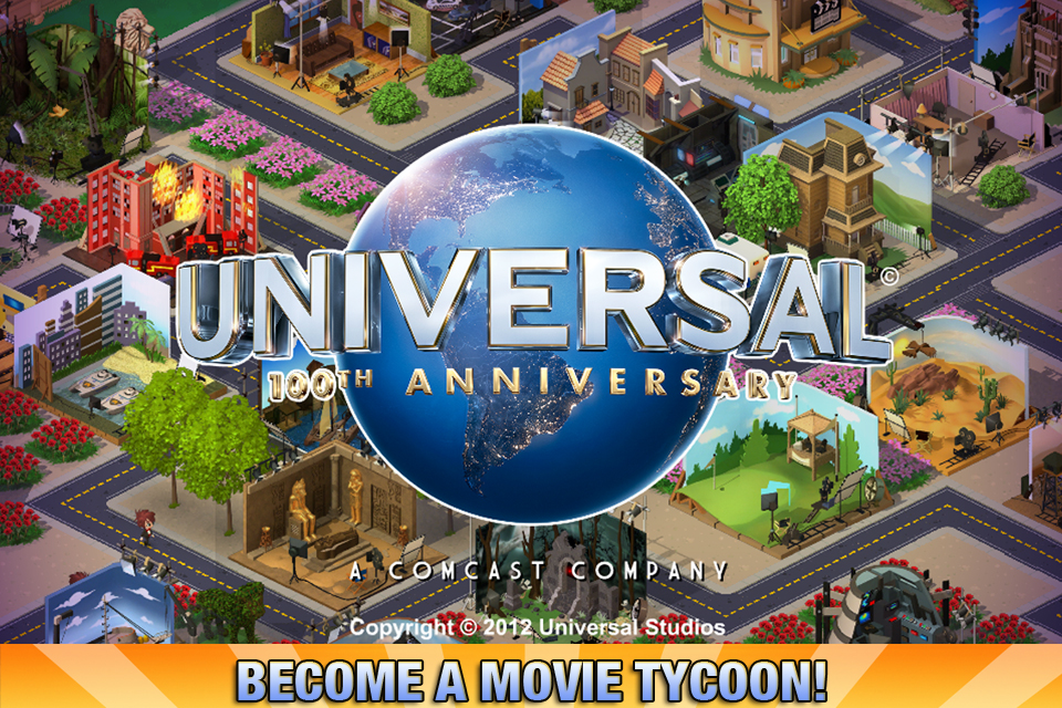 Free Universal Movie Tycoon iPhone Game