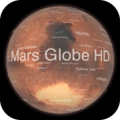 Mars Globe HD icon