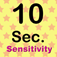 Time Sensitivity - 10 Sec.