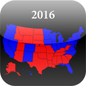 Election 2016 Map icon