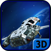 e3D: SpaceShip icon