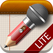 AudioNotepad HD Lite icon