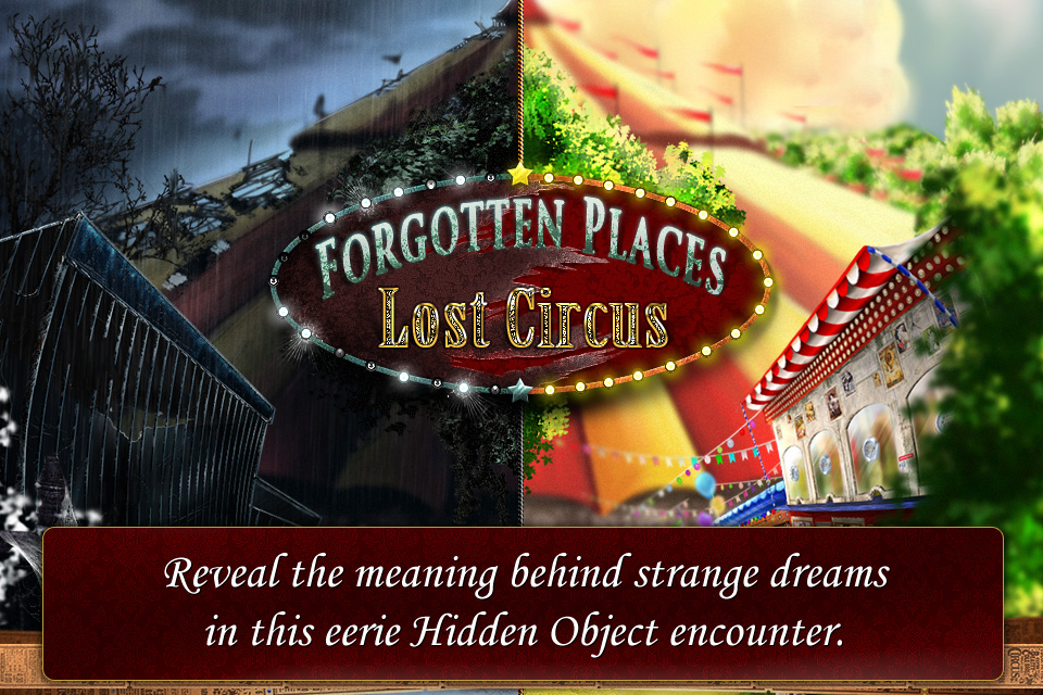 Free Forgotten Places iPhone Game
