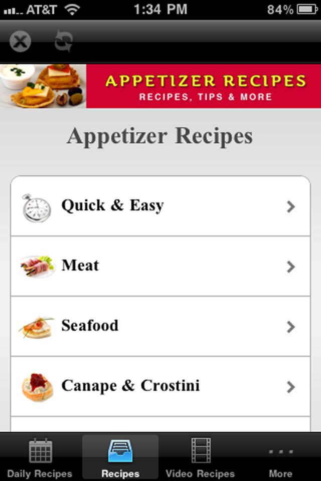Appetizer Recipes+