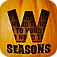 Word to Word Seasons - A fun and addictive Halloween and Christmas word association game