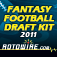 RotoWire Fantasy Football Draft Kit 2011
