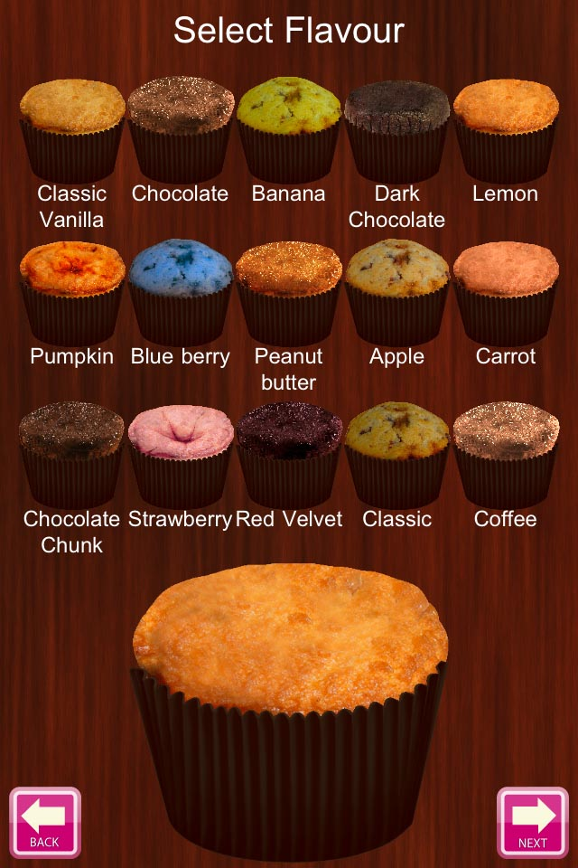 Cupcake plus screenshot 2