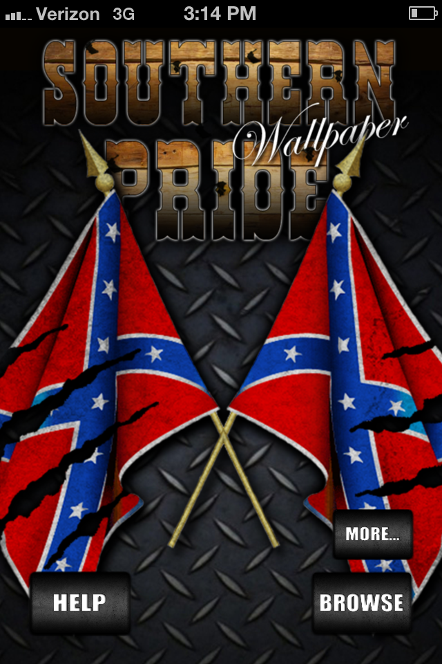 Southern Pride (Rebel Flag) Wallpaper! by Stafford Signs