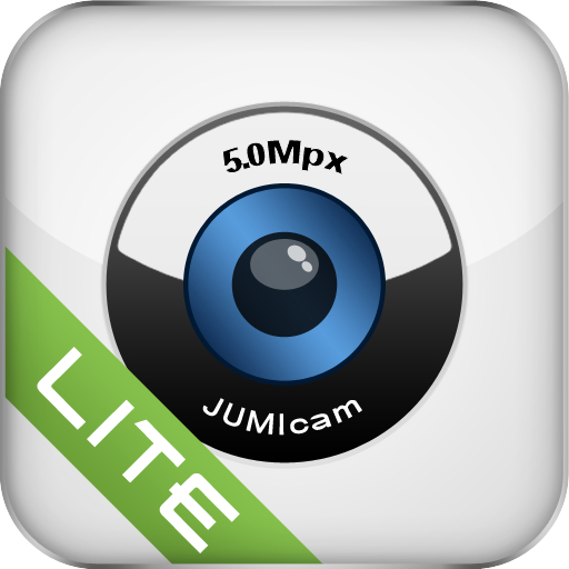 free JumiCam Lite - Webcam video streaming & remote camera video & audio spying iphone app