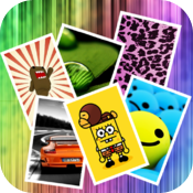 Wallpapers HD Free & Screen Backgrounds - by Jimm Apps for iPhone iPod icon